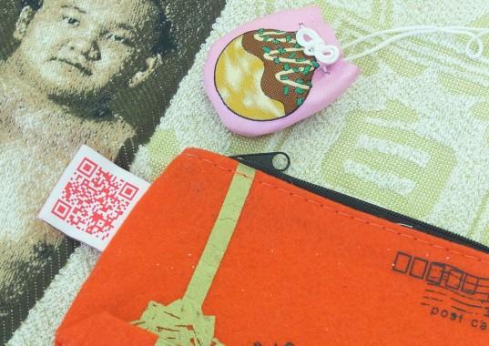 刺繍QRコード