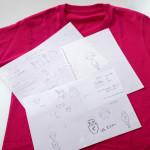 Tシャツデザイン_スケッチ