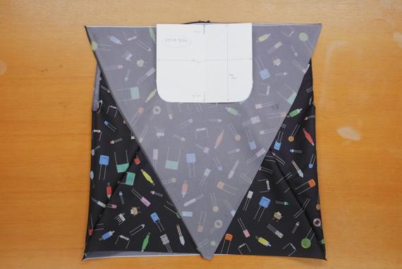 折り畳み傘をエコバックにリメイク(作り方)