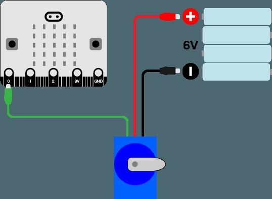 micro:bitでサーボモーターが動かない…グランド(GND)てなに?