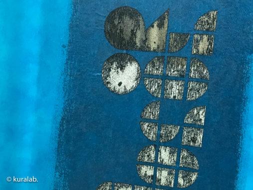 レーザー彫刻でカンタン謄写版印刷ガリ版キットのブルーステンシルシートを製版してみた